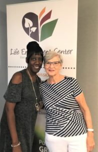 Cheri Craig with Karen Jackson